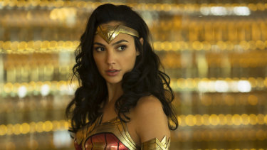 Gal Gadot reprises her lead role in Wonder Woman 1984.