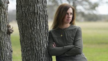 Rachel Van Lear of Texas who suffers from long haul symptoms of coronavirus.