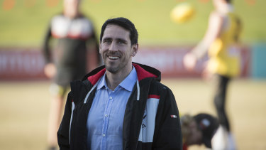 Former rugby player Ben Daley is embracing his role as St Kilda's COVID-19 compliance officer.