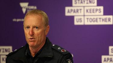 Victoria Police Deputy Commissioner Rick Nugent.