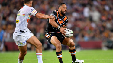 Vintage: Benji Marshall returned from injury to haunt his former coach Ivan Cleary.
