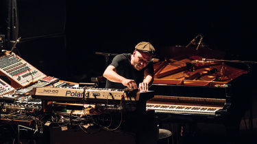 Nils Frahm produced a genre-defying performance.