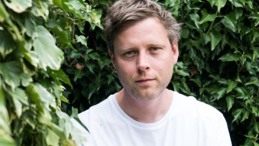 Max Porter, the author of Lanny.