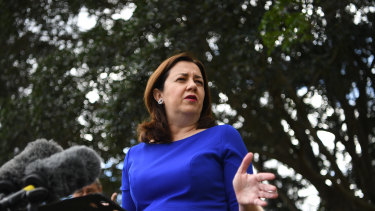 Queensland Premier Annastacia Palaszczuk says border restrictions will be reviewed at the end of every month.