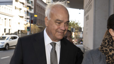 Former Leighton Holdings chief financial officer Peter Gregg.