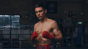 Tim Tszyu will take on unbeaten Australian Dwight Ritchie on Wednesday.