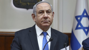 Israeli Prime Minister Benjamin Netanyahu called on the Palestinians to embrace Donald Trump's vision for the Middle East.