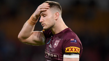 Jai Arrow has been rubbed out of game three of the Origin series for a COVID-19 rule breach.
