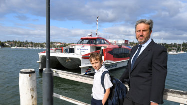 Captain Cook Cruises has blamed low passenger numbers for its decision to cease operating the Lane Cove ferry service.