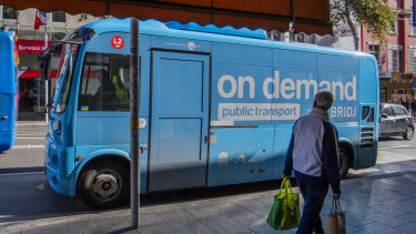 On-demand buses are rolling out across Sydney.