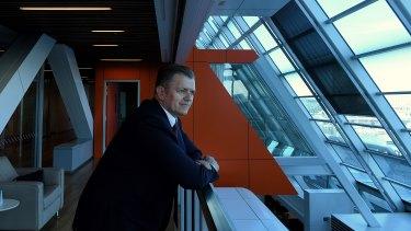 Greg Ward, head of banking and financial services at Macquarie Group.