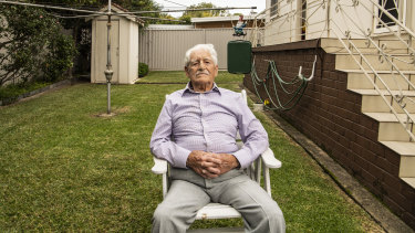 Dan Long at his Caringbah home.