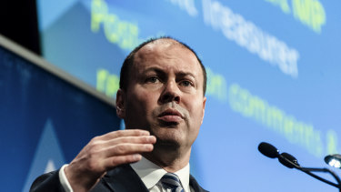Josh Frydenberg at the Stockbrokers Conference.
