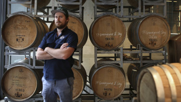 Shane Casey, the head distiller at Brix Distillers, says each bottle of locally made rum contains a unique story.