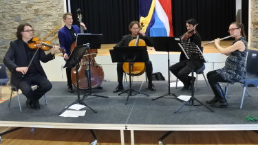 The program sees five musicians perform in schools, and is running until 2020.