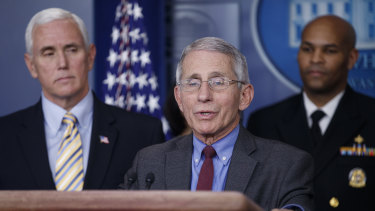 Fauci has not held back from contradicting false claims by US President Donald Trump.