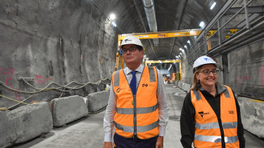 Much of Victoria's infrastructure spending is to cater for a growing population.