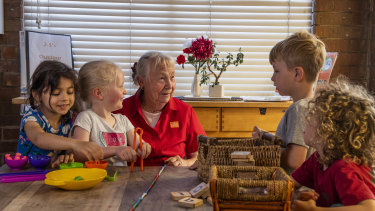 In an industry known for its high staff turnover, Peggy Lane has worked at the same childcare centre for 45 years.