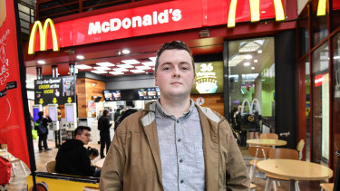 McDonald's worker Xzavier Kelly is leading a case to get more than $200m back pay from McDonald's for lost penalty rates.