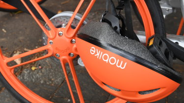 Mobike and Lime are the  only bike share companies operating in Sydney at the moment.