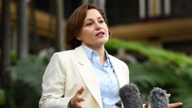 Deputy Premier and Treasurer Jackie Trad was supposed to hand down the state budget on Tuesday.