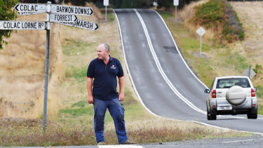 Barwon Downs CFA captain Gavin Brien has attended almost every crash at the Birregurra site for the lat 20 years.