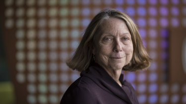 Former executive editor of The New York Times, Jill Abramson. Her new book is Merchants of Truth.