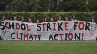 Students are planning to go on strike to demand serious climate action.