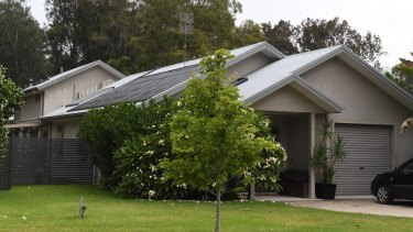 Julieanne Williamson's waterfront house at Brightwaters on the shores of Lake Macquarie.