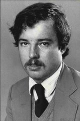"""Michael Robotham as a young journalist in 1982: """"I was such a hayseed!"""""""