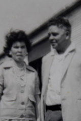 Ruth in 1967 with Joe McGinness, president of the Federal Council for Aboriginal Advancement