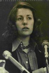 Elizabeth Reid, Gough Whitlan's special adviser on women's issues in 1973.