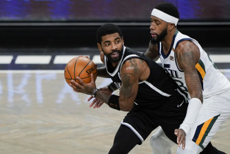 Kyrie Irving has missed the Nets' last three games.