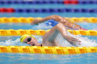 Katja Dedekind has claimed two medals in the pool in Tokyo.