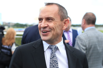 Chris Waller is happy going it alone as a trainer.