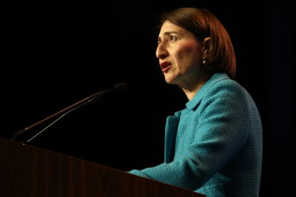 Premier Gladys Berejiklian has defended the state's abortion bill.