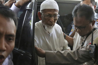 There is little to suggest that Abu Bakar Bashir feels any remorse for the acts of violence he has been involved in.
