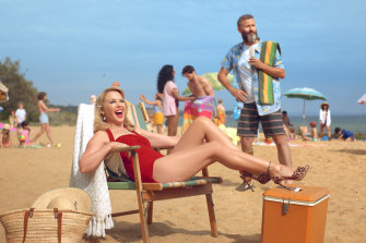 Kylie Minogue and comedian Adam Hills star in Tourism Australia's new $15 million campaign that is designed to attract more British tourists.