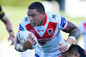 Newcastle-bound Dragons forward Tyson Frizell is among the players who could have been affected had the NRL season continued into November.