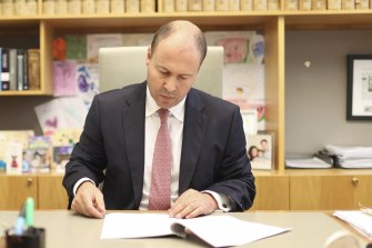 Josh Frydenberg offers cheap money to COVID-troubled businesses.