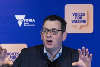Premier Daniel Andrews is confronting an exodus of senior advisers from his private office.