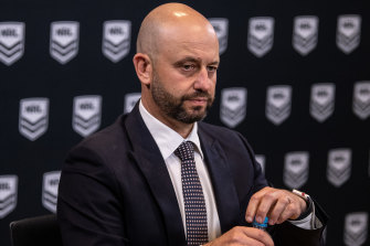 Todd Greenberg's friendship with player manager Isaac Moses is still causing concern at League Central.