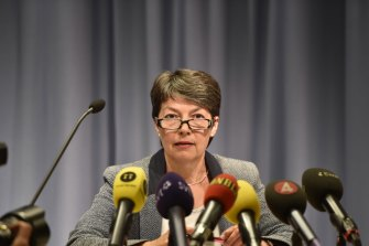 Swedish prosecutor Marianne Ny.