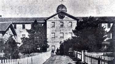 The Parramatta Female Factory was one of several state and church-run institutions at the site.