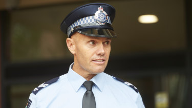 Police diver Senior Constable James Hall gave evidence to the inquest today.