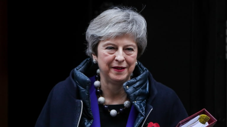 Theresa May held a cabinet meeting to try to corral her ministers behind a proposed Brexit divorce deal