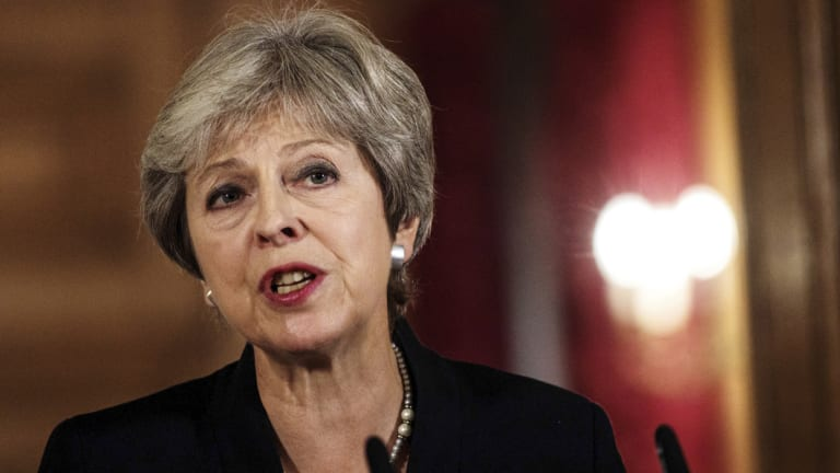 Theresa May has said she won't  accept  different customs arrangements in Northern Ireland and mainland Britain.