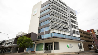 Telstra's new Business Technology Centre in Townsville. 28 will be rolled out around Australia.