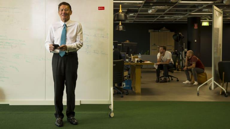 Optus CEO Allen Lew