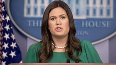 White House press secretary Sarah Sanders said Trump had done a tremendous job.